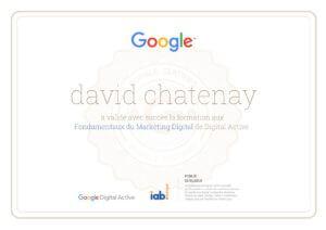 Certification marketing digital Google