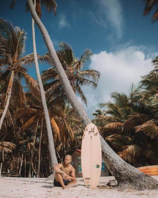 alexis rosa planche de surf